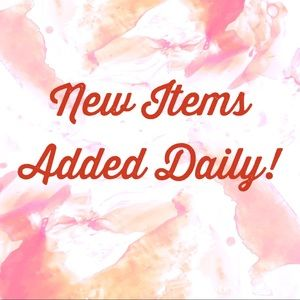 New Items Added Daily!
